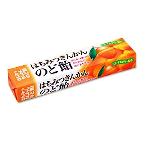 お菓子まとめ買い・キャンディ、飴系のお菓子 ノーベル はちみつきんかんのど飴スティック (10個入)
