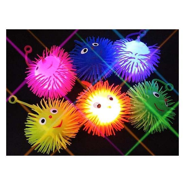 光る スマイルBONBON ヨーヨ―(小)(24個入)光るおもちゃ 景品 子ども会 子供会 縁日 団扇 不良返品不可|nichokichi