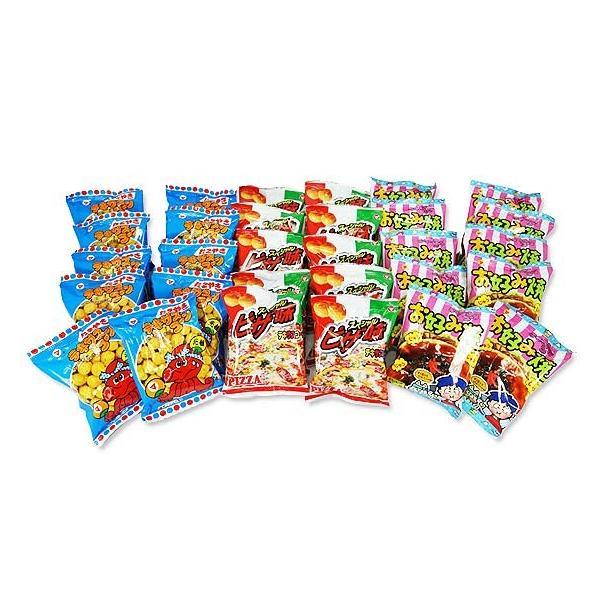駄菓子セット・お菓子の詰め合わせ 松山製菓 テキサスコーン 3種180個 詰め合わせセット