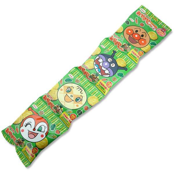 栗山米菓 アンパンマンのおやさいせんべい 4P(12個入) お菓子 煎餅 幼児 野菜 箱買い