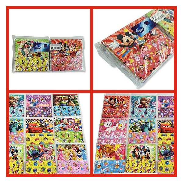 景品玩具まとめ買い・ファンシー・バラエティ系の玩具  ディズニーおりがみアソート(25個入)|nichokichi|02