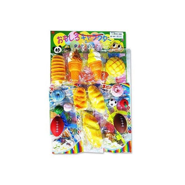 80回引き やわらかスクイーズ  台紙 当てくじ (80 + おまけ ) 子供会 景品 お祭り くじ引き 縁日|nichokichi