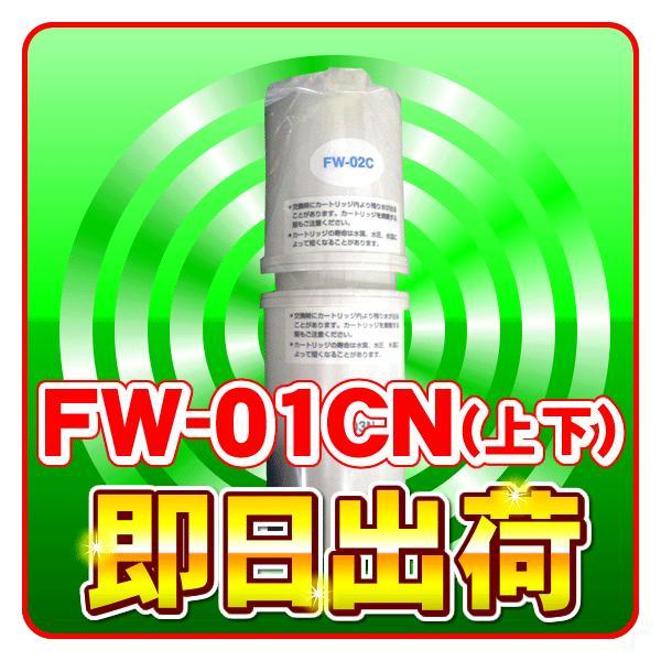 フジ医療器 浄水器カートリッジ 交換フィルター FW-01CN(上下セット)