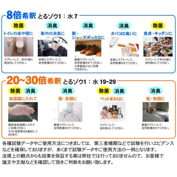 次亜塩素酸水 2L×2本=4L とるゾウ 独自製法により長期保存可能 除菌水 濃度400ppm ---6608×2--- 「送料別」 2セット以上で送料無料 日本製|nickangensuisosui|07