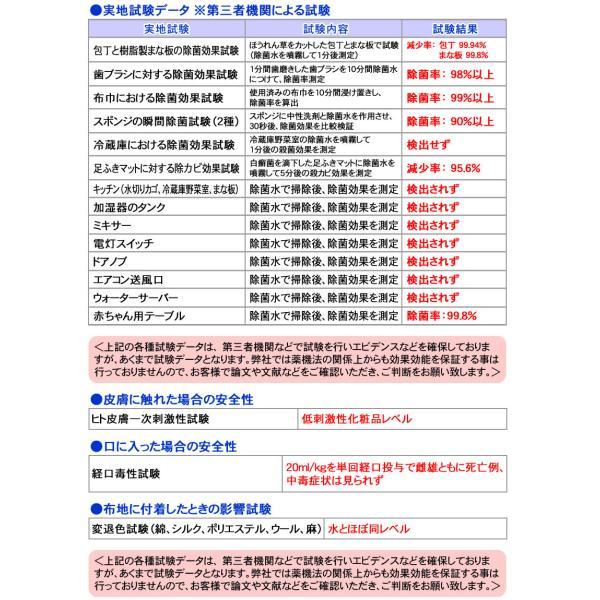日本製 次亜塩素酸 除菌水(消毒用エタノール IP 手 ポンプ式 エタノール消毒液 の売切れ対策品)とるゾウ2L-6608-2個で送料無料|nickangensuisosui|13