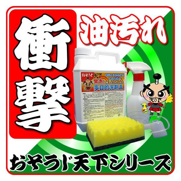 驚異の油汚れに強い洗剤 油汚れ 洗剤 換気扇 大掃除に強力な油落とし洗剤 頑固な油汚れ洗剤 業務用 生まれの多目的洗剤Aのパンフとシートサンプル