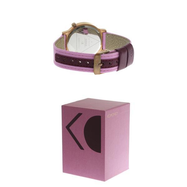 コモノ KOMONO Wizard Heritage-Azalea クオーツ レディース 腕時計 KOM-W1356 ローズゴールド
