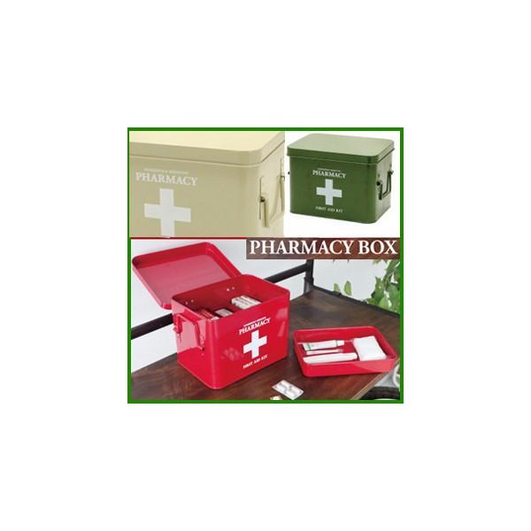 A612■送料無料 おしゃれコンパクト救急箱 デイリーファーマシーボックス  薬の入れモダン救急ボックス K918BEK918RDくすり箱 nicolife