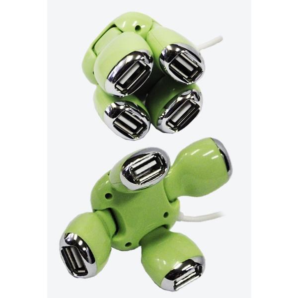 MB433タートルUSBハブスネークUSBハブ4ポート USB2.0にも対応! USBケーブルUSBメモリSDカードUSBコンセントUSBコードUSB扇風機|nicolife|02