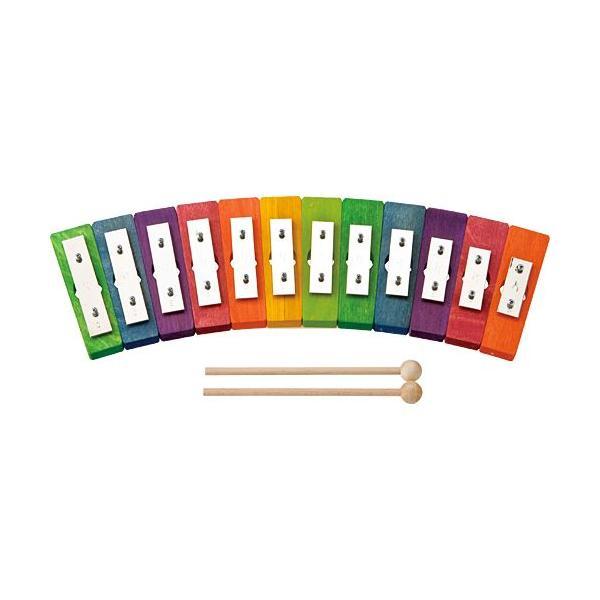 楽器 音楽 鉄琴 子供 子供 誕生日プレゼント レインボーグロッケン・ダイアトニック12音