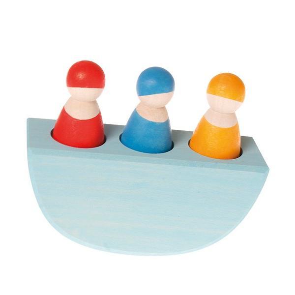 グリムス スリーインボート 知育玩具 木のおもちゃ