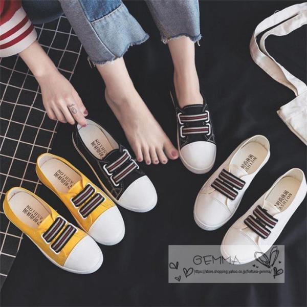 スニーカーレディースシューズ靴フラットスリッポン歩きやすいシンプルバイカラーらくちん靴フラットシューズ