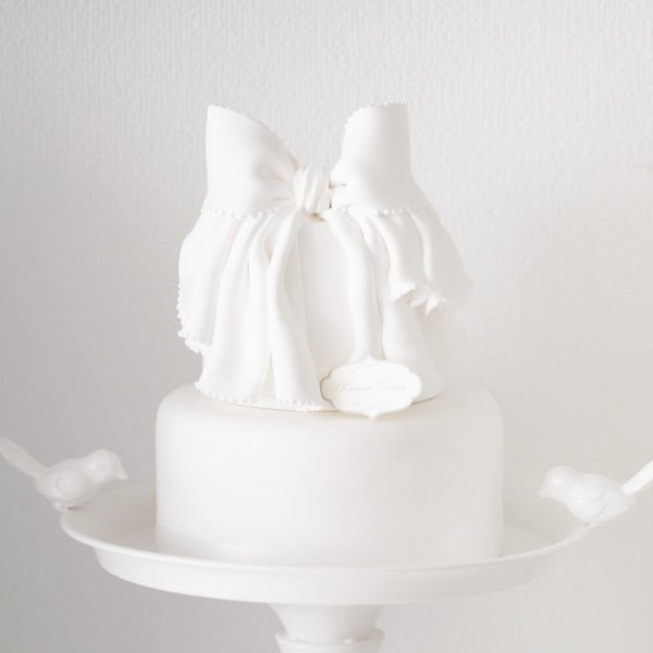 2段リボンケーキ ラルソンデザイン ラルソンクレイ クレイケーキ フェイクスイーツ ハンドメイド|nidek|02