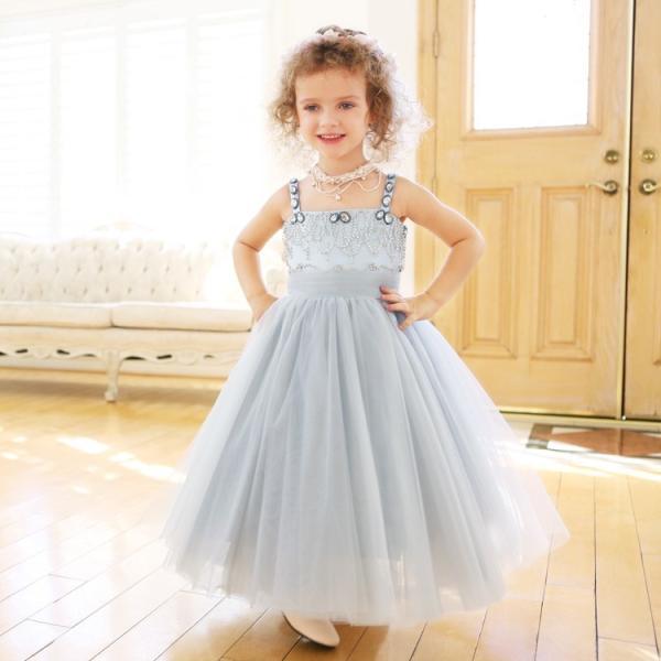 08446ea07511d ... キッズドレス 子供 ドレス キッズ ビジュー 子ども 服 ドレス パーティードレス パーティドレス こども プリンセス お ...