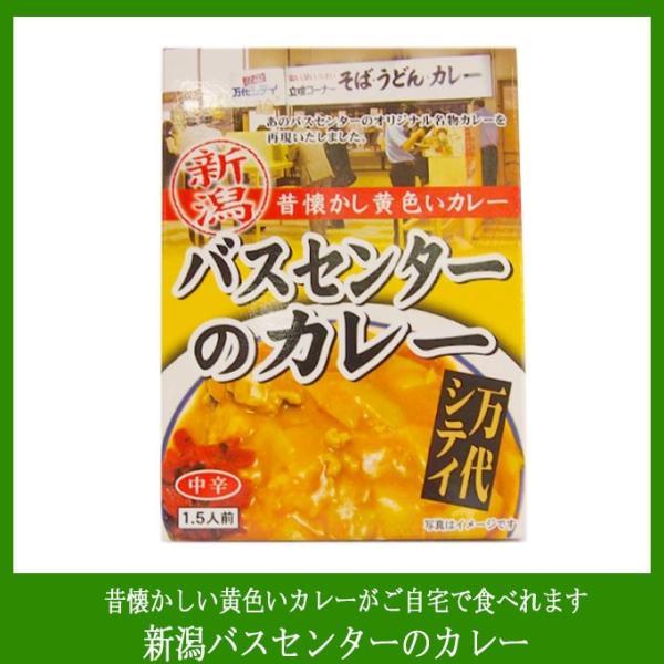 新潟B級グルメ万代シティバスセンターのカレー(220g/1袋)レトルト新潟B級グルメの代表商品昔懐かしい黄色いカレー
