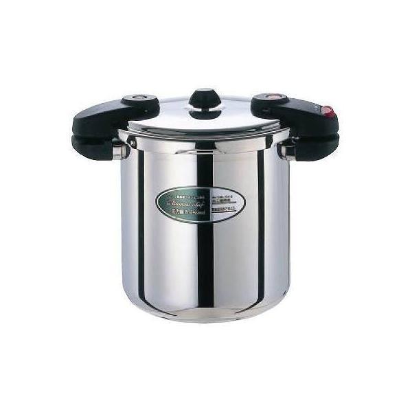ワンダーシェフ 両手圧力鍋 10L レギュラープロ ミドルサイズ|niigata-kitchen
