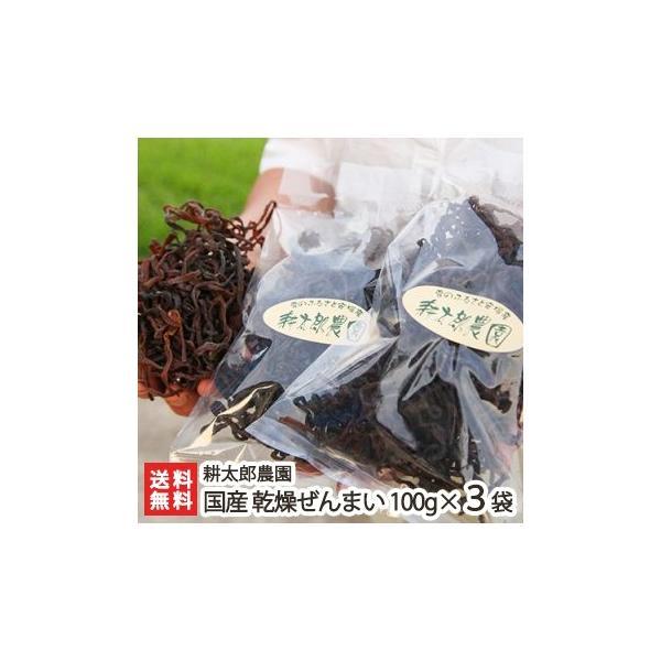 新潟産 天然乾燥ぜんまい 300g(100g×3袋)耕太郎農園/送料無料
