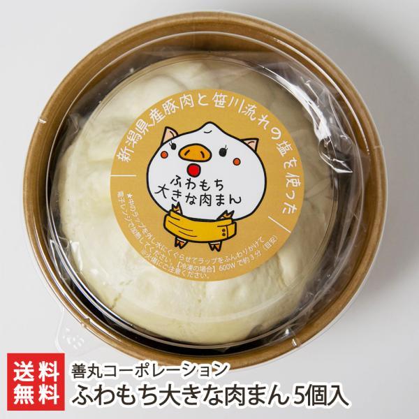 ふわもち大きな肉まん 5個入 善丸コーポレーション/送料無料