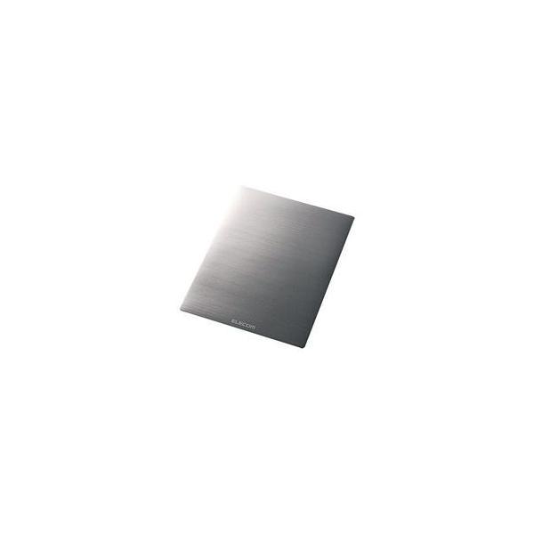 (業務用5セット)エレコム ELECOM マウスパッド ノーマルサイズ銀MP-118SV|nijiiromarket