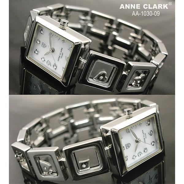 アン・クラーク レディース クォーツ腕時計 AA1030−09|nijiiromarket|02