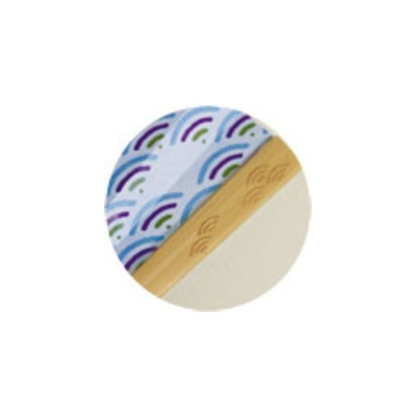 komon+ 和紙扇子70型25間〔3本セット〕青海波クジラ nijiiromarket 03