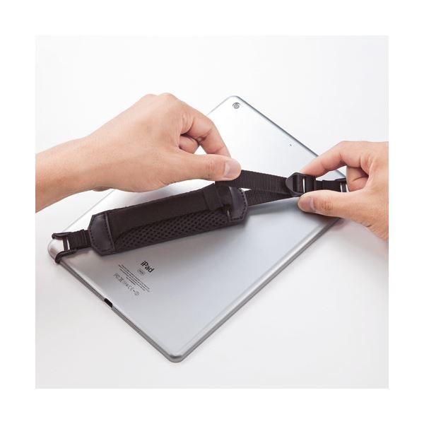 (まとめ)サンワサプライ タブレットホルダーバンド PDA-TABH2BK〔×10セット〕|nijiiromarket|02