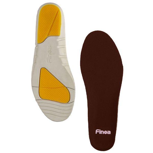 Finoa(フィノア) ウォーキング 男性用インソールM (25 〜 26.5 cm ) 32122 (靴の中敷き) nijiiromarket