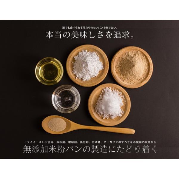 グルテンフリー パン 無添加 天然酵母  米粉パン 米粉100% 食パン nijinoho-store 06