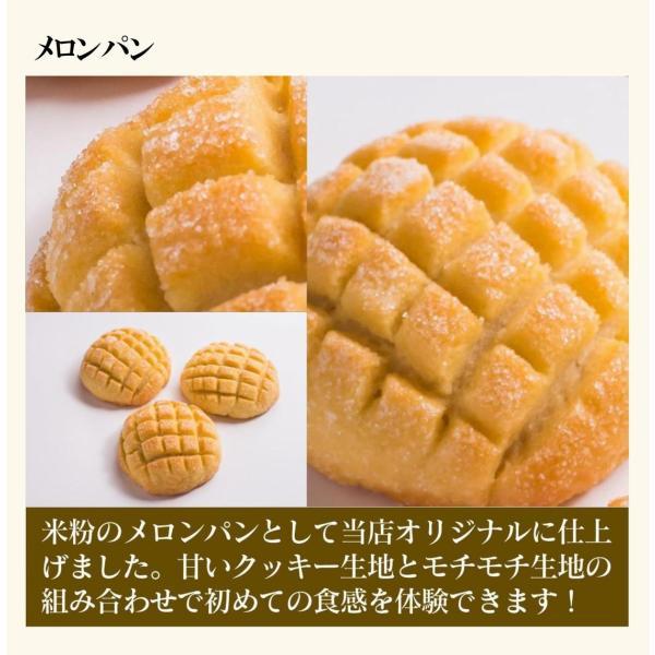 グルテンフリー パン 米粉パンお試しセット|nijinoho-store|13