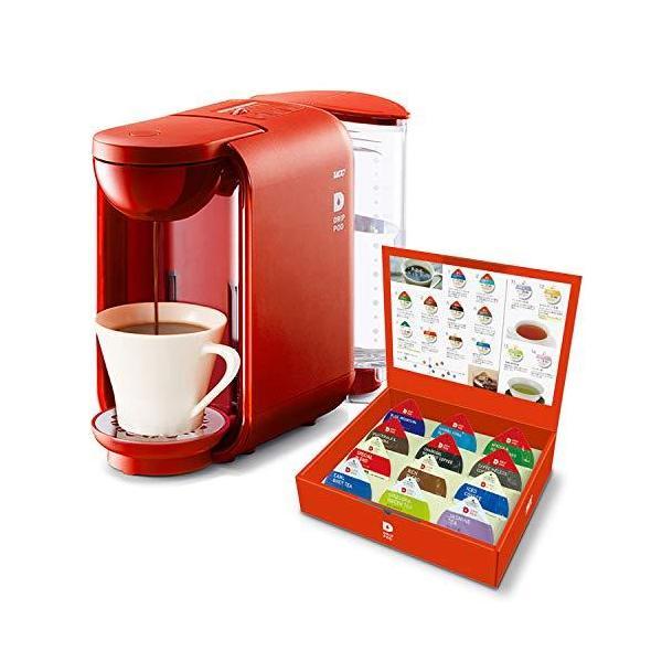 UCCコーヒーメーカー ドリップポッド 本格ドリップコーヒーカプセル式(レッド)DP2(R)+UCCドリップポッド?