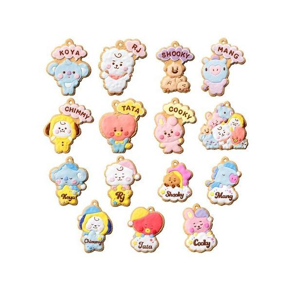 (予約)BT21 クッキーチャームコット(食玩)BOX 2021年10月25日発売予定