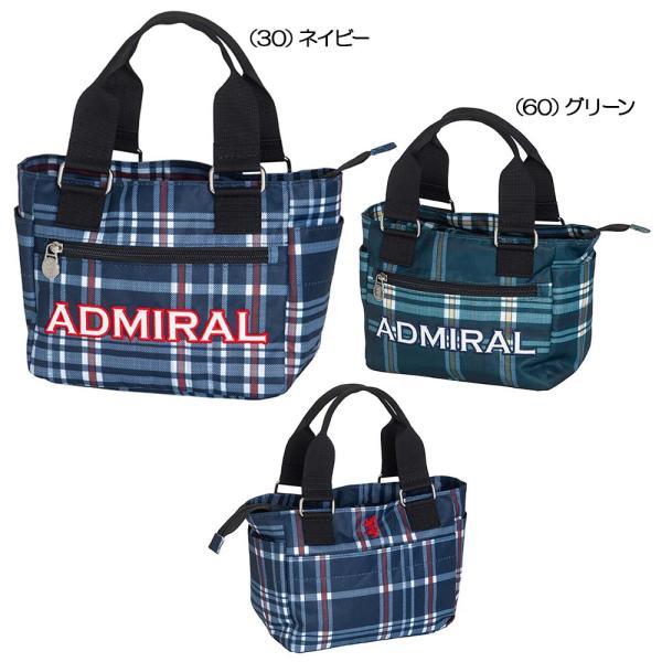 2021 アドミラル ラウンドバッグ チェックシリーズ ADMZ1BT5 【 ゴルフボールケース・ポーチ・ボディバッグ類 | アドミラル(Admiral) 】