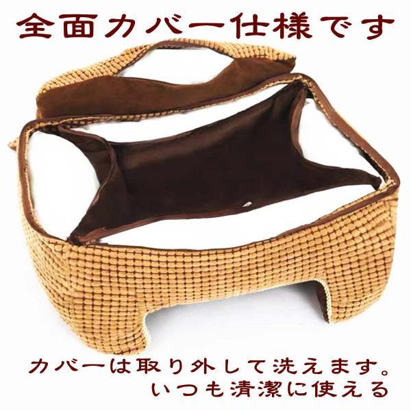 ペットベッド 冬 大型犬 犬 猫 コーデュロイ スクエア 角型 XLサイズ ブラウン 大型宅配便送料無料/代引不可|nikkashop|05