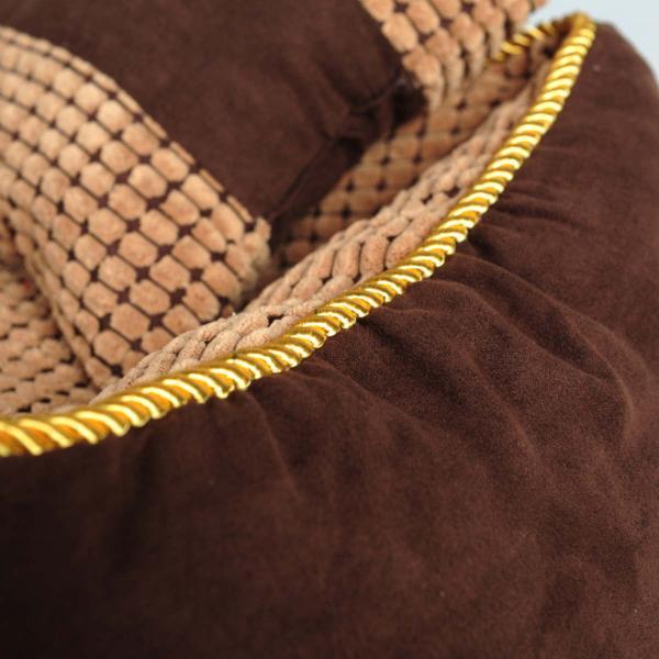 ペットベッド 冬 大型犬 犬 猫 コーデュロイ スクエア 角型 XLサイズ ブラウン 大型宅配便送料無料/代引不可|nikkashop|08