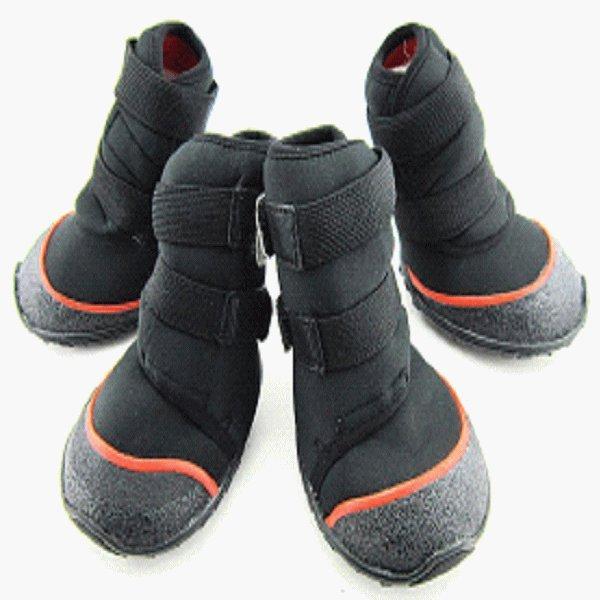 犬靴 シューズ ブーツ 靴 犬の靴 ロング ブーツ (M〜XLサイズ) 1足4個入り 大型犬 小型宅配便送料無料|nikkashop|07