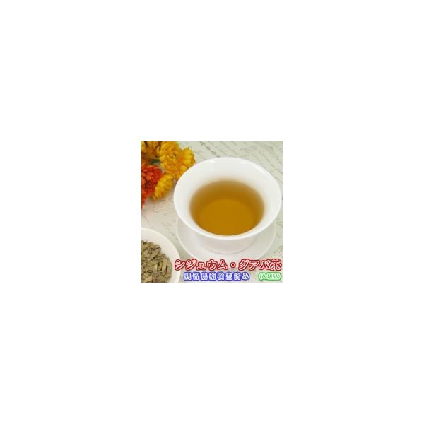 健康茶「グアバ茶」A級品(シジュウム茶) チャック付新鮮真空パック100g  「メール便送料無料」(残留農薬検査済み)送料無料 お徳用 ぐあば茶|nikkosabo