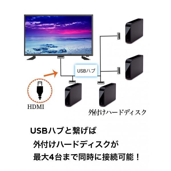 24型 24インチ 液晶テレビ テレビ TV 地上デジタル BS CS ダブルチューナー 裏番組 多機能 高画質 一人暮らし 人気 壁掛け HDMI 直下型LED 内蔵 PCモニター HDD