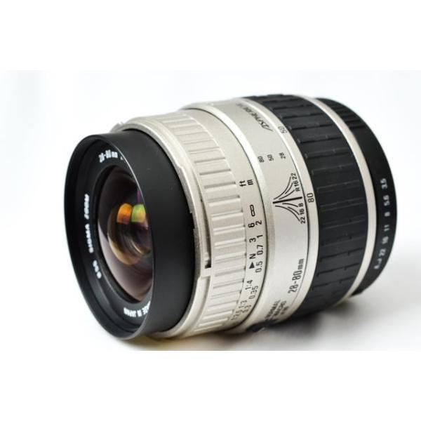 シグマ SIGMA ZOOM 28-80mm/F3.5-5.6 II MACRO FOR PENTAX 交換レンズ