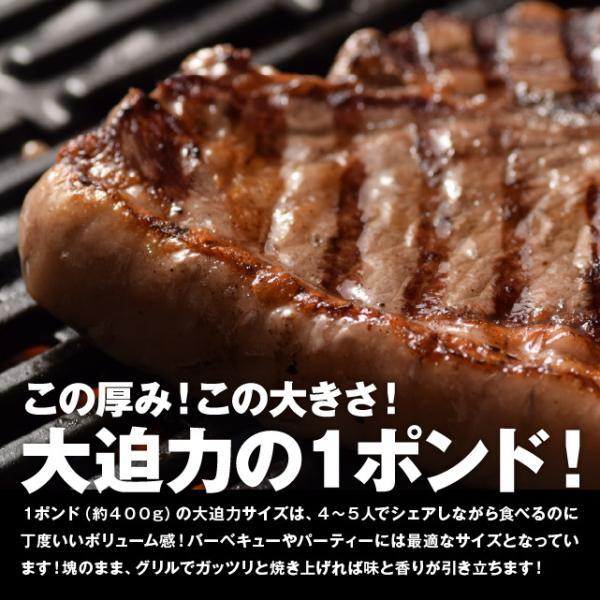 本場US産 Tボーンステーキ 1枚 400g以上 約2-3人前 アメリカ Tボーン ステーキ 1ポンド 牛肉 焼き肉  焼肉  BBQ  バーベキュー|niku-donya|04