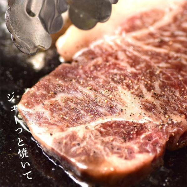 国産牛霜降り ロイン ステーキ 肉 200g 牛肉 リブロース サーロイン niku-donya 07