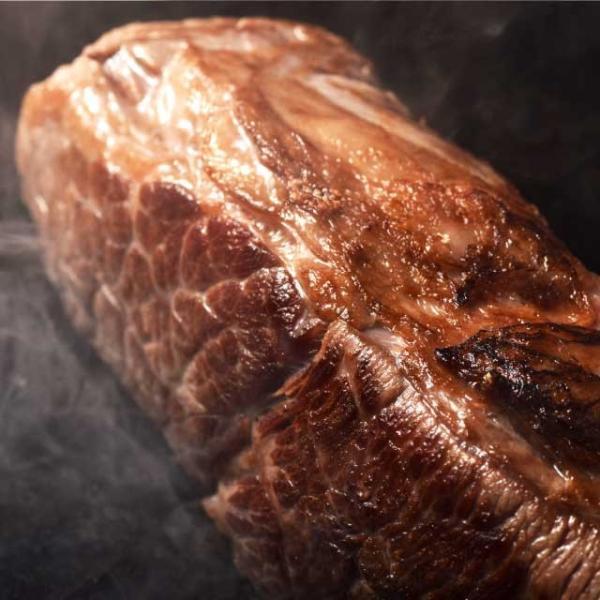 送料無料 極厚 塊 ステーキ 400g ( チャックテールフラップ ステーキ用) 牛肉 ザブトン 赤身 ブロック 肉 焼肉|niku-donya|02