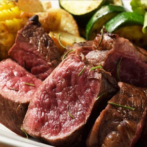 送料無料 極厚 塊 ステーキ 400g ( チャックテールフラップ ステーキ用) 牛肉 ザブトン 赤身 ブロック 肉 焼肉|niku-donya|04