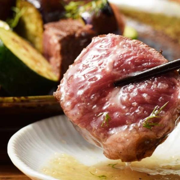 送料無料 極厚 塊 ステーキ 400g ( チャックテールフラップ ステーキ用) 牛肉 ザブトン 赤身 ブロック 肉 焼肉|niku-donya|05