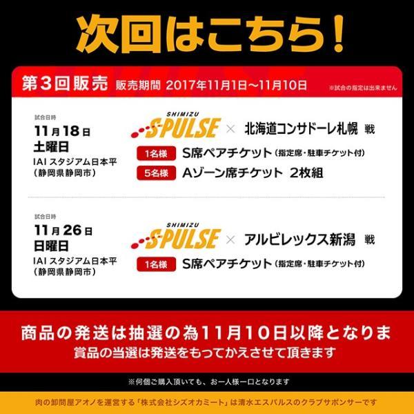 エスパルス観戦チケットが当たる!これが話題のハンバーグ [ザ・お肉] The Oniku【肉】そのまんま肉バーグ【180g×3個入 計540g】|niku-donya|02