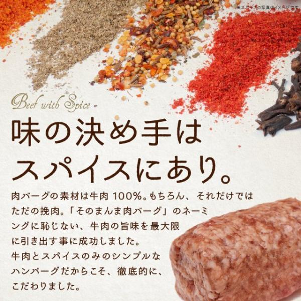 ハンバーグ 冷凍 The Oniku ザ・お肉 そのまんま肉バーグ 180g×3 牛肉 ハンバーグ お取り寄せ ギフト セット 冷凍 レトルト 業務用 訳あり わけあり|niku-donya|06