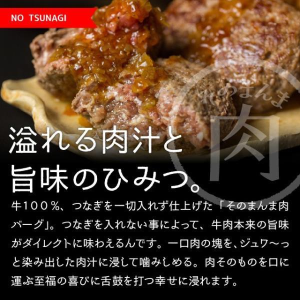 ハンバーグ 冷凍 The Oniku ザ・お肉 そのまんま肉バーグ 180g×3 牛肉 ハンバーグ お取り寄せ ギフト セット 冷凍 レトルト 業務用 訳あり わけあり|niku-donya|07