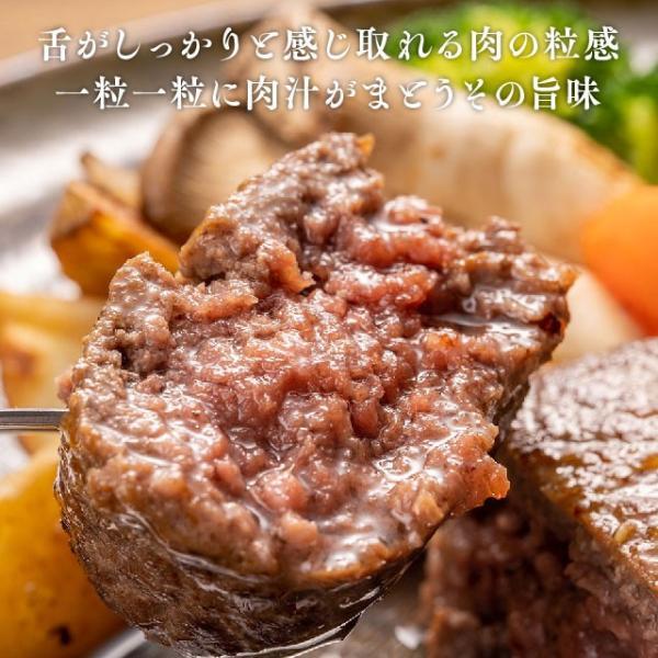 黒毛和牛100% 特製肉バーグ [TheOniku] 大人気そのまんま肉バーグの原料を黒毛和牛にした特別品!黒毛和牛の旨味がぎゅっと凝縮|niku-donya|07