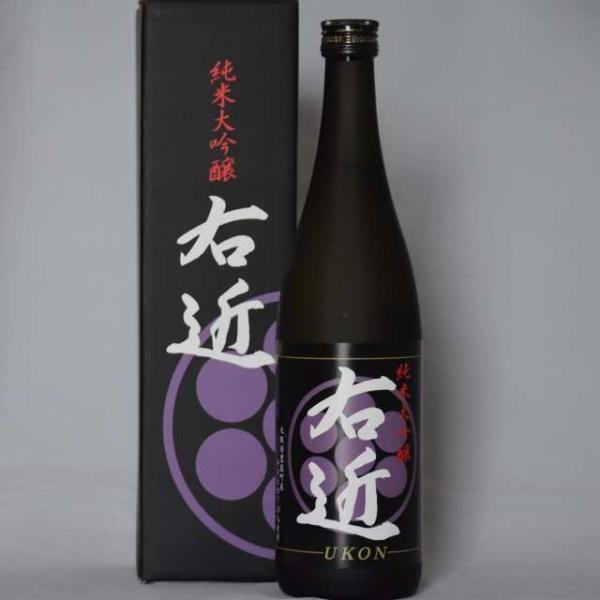 純米大吟醸「右近」720ml 箱付き|niku36835