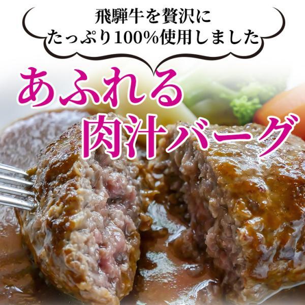 牛肉 和牛 惣菜 ギフト 飛騨牛 肉 生ハンバーグ 120g×6個 まとめ買い 御礼 御祝 内祝 nikunohiguchi-yafuu 02