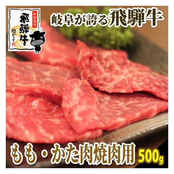 焼肉 肉 牛肉 飛騨牛 飛騨牛ももかた肉 500g おうち焼き肉 バーベキュー 黒毛和牛 お取り寄せ グルメ